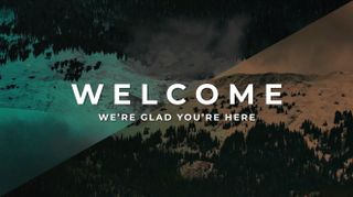 Mountain Welcome