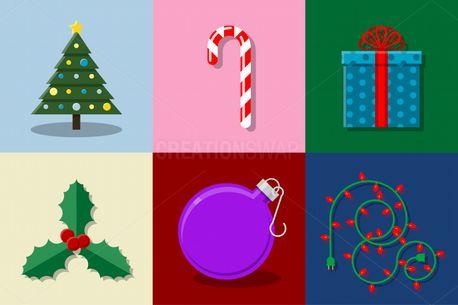 Christmas Vector Set (73990)