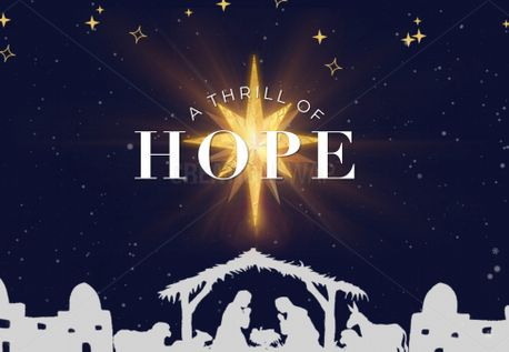 A Thill of Hope Bulletin (74014)