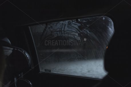 Winter car window (74101)