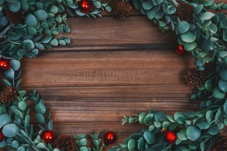 Christmas greenery background (74165)