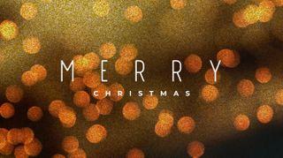 Bokeh Glitter Christmas