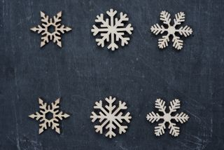 Patterned Snowflakes