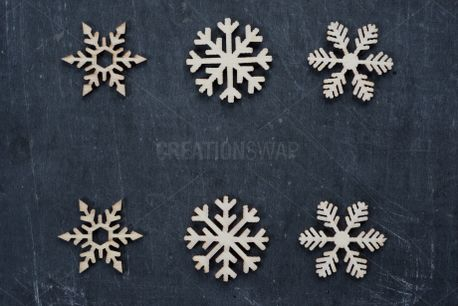 Patterned Snowflakes (74310)