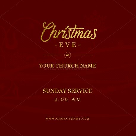 Christmas Eve - Elegant Social (74368)