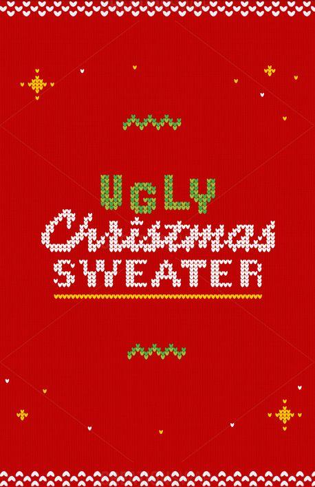 Ugly Christmas Church Bulletin (74385)