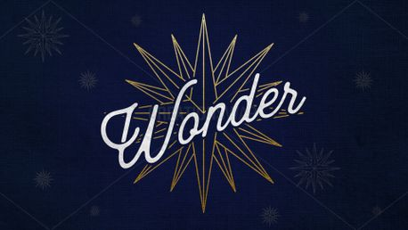 Wonder Christmas Slide (74388)