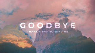 Mt Double Exposure Goodbye