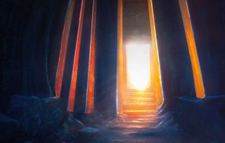 Light in the temple