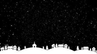 Winter Night Holidays Village