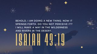 New Years Scripture