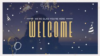 New Years Welcome