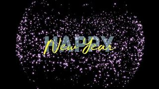 Happy New Year Title Graphics