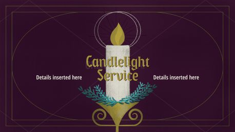Candlelight or Advent Service (74657)
