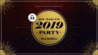 New Years Eve 2019 Party