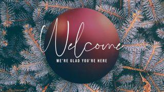 Christmas Bulb Welcome