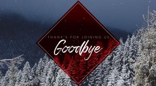"""""""Goodbye"""" Christmas Title"""