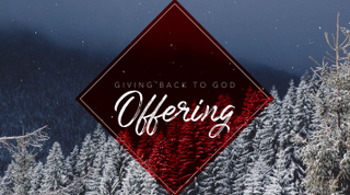 """Offering"" Christmas Title"