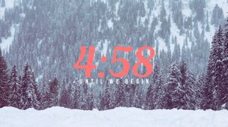 Snowy Mountain Countdown