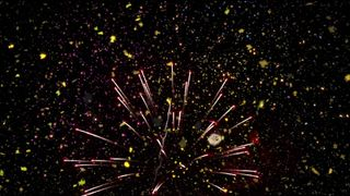 Real Fireworks & Confetti Loop