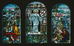 Stained glass window (75137)