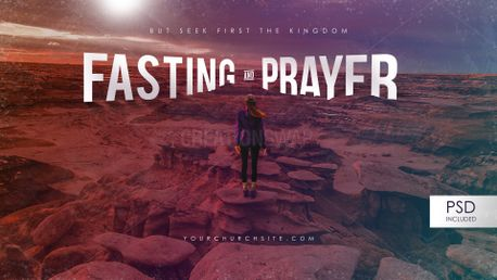 Fasting and Prayer 4k (75399)