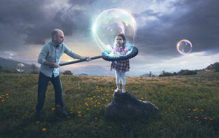 Bubble parenting