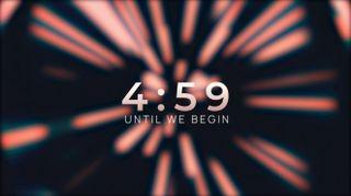 Light Beam Lens Countdown