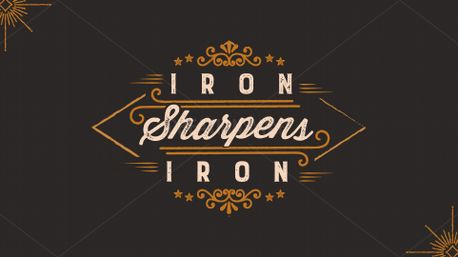 Iron Sharpens Iron Series (75440)