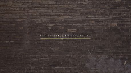 Christ Firm Foundation (75519)