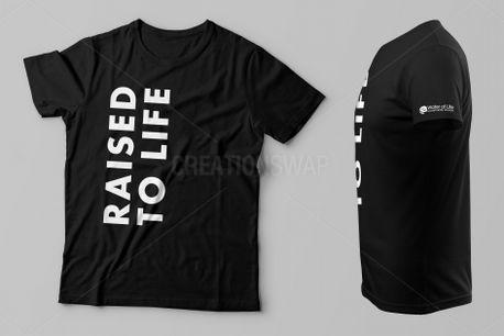 Baptism Shirt - Raised to Life (75543)