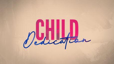 Child Dedication 2019 Slide (75670)