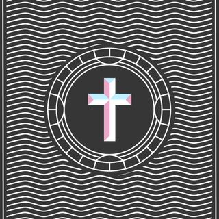 Cross Line Art