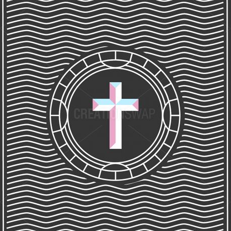 Cross Line Art (75769)