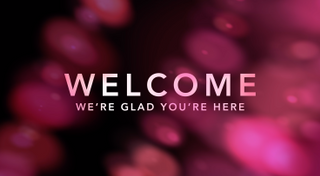 """Welcome"" Motion Title"