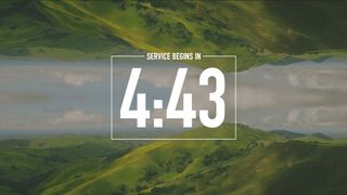 Mirrored Landscape Countdown