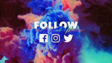 Follow Us On Social Meida (76027)