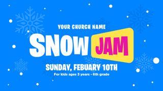 Snow Jam Slide