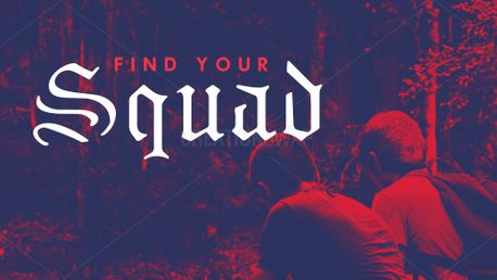 Find Your Squad Sermon Series (76193)