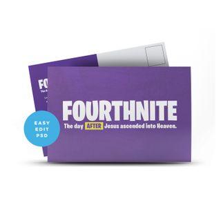Fourthnite Postcard