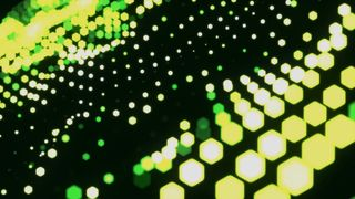 Dot Matrix Lime