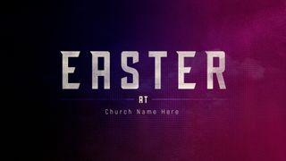 Easter Artwork/Screen Slides
