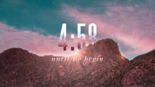 Mountain Risen Countdown