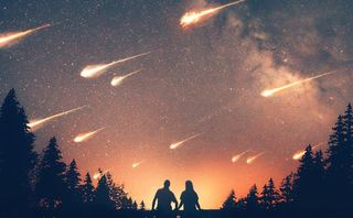 Stars falling from the sky