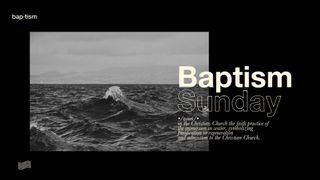 Modern Baptism Slides