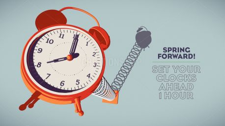 Daylight Saving Spring Forward (77170)