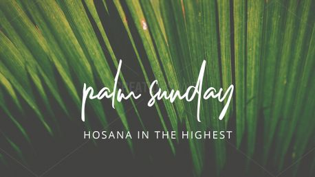 Palm Sunday (77191)