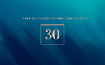 30 Seconds to Pray Countdown (77307)