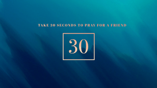30 Seconds to Pray Countdown