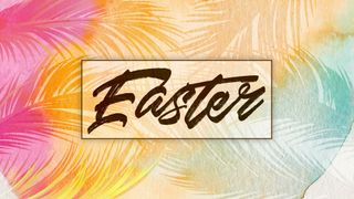 Watercolor Easter slide